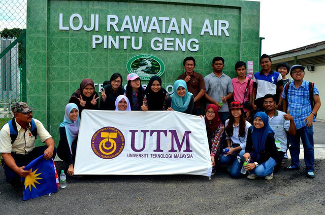 Ði thực tế nhà máy xử lý nuớc ở bang Kelantan – phía bắc Malaysia